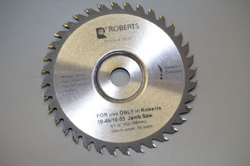 Roberts Long Neck Jamb Saw replacement Blade RWS089B
